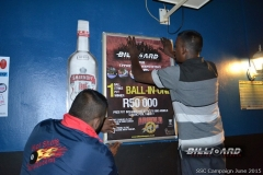 BPL SSC KZN_Sylvester and Neelan putting up posters