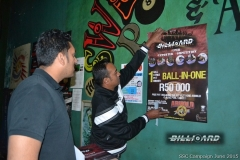 BPL SSC KZN_Yulan working hard putting up posters