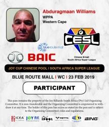 Abduragmaan Williams