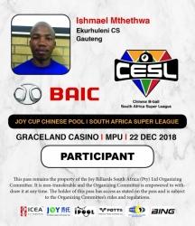 Ishmael Mthethwa