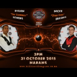 151031 Rushin vs Nickie 3pm