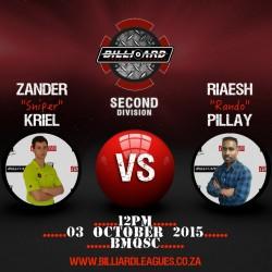 Zander vs Riaesh